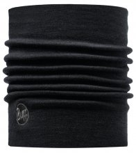 Бандана BUFF HEAVY MERINO WOOL SOLID BLACK